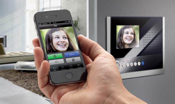 domovní video telefony